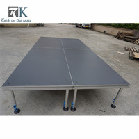 Portable stage platform quick stage equipment used portable staging for sale