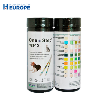 Urine test strip cat