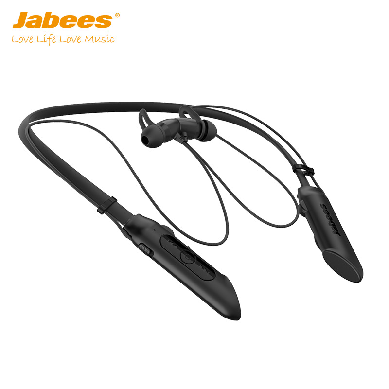 Jabees NBees Waterproof Wireless Sport Headphones Handfree Invisible Audio With Rechargeable Battery - idealBuds Earphone | idealBuds.net