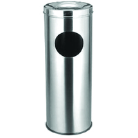 Stainless Steel Grounp Ash Barrel,Litter Bin,Trash Bin