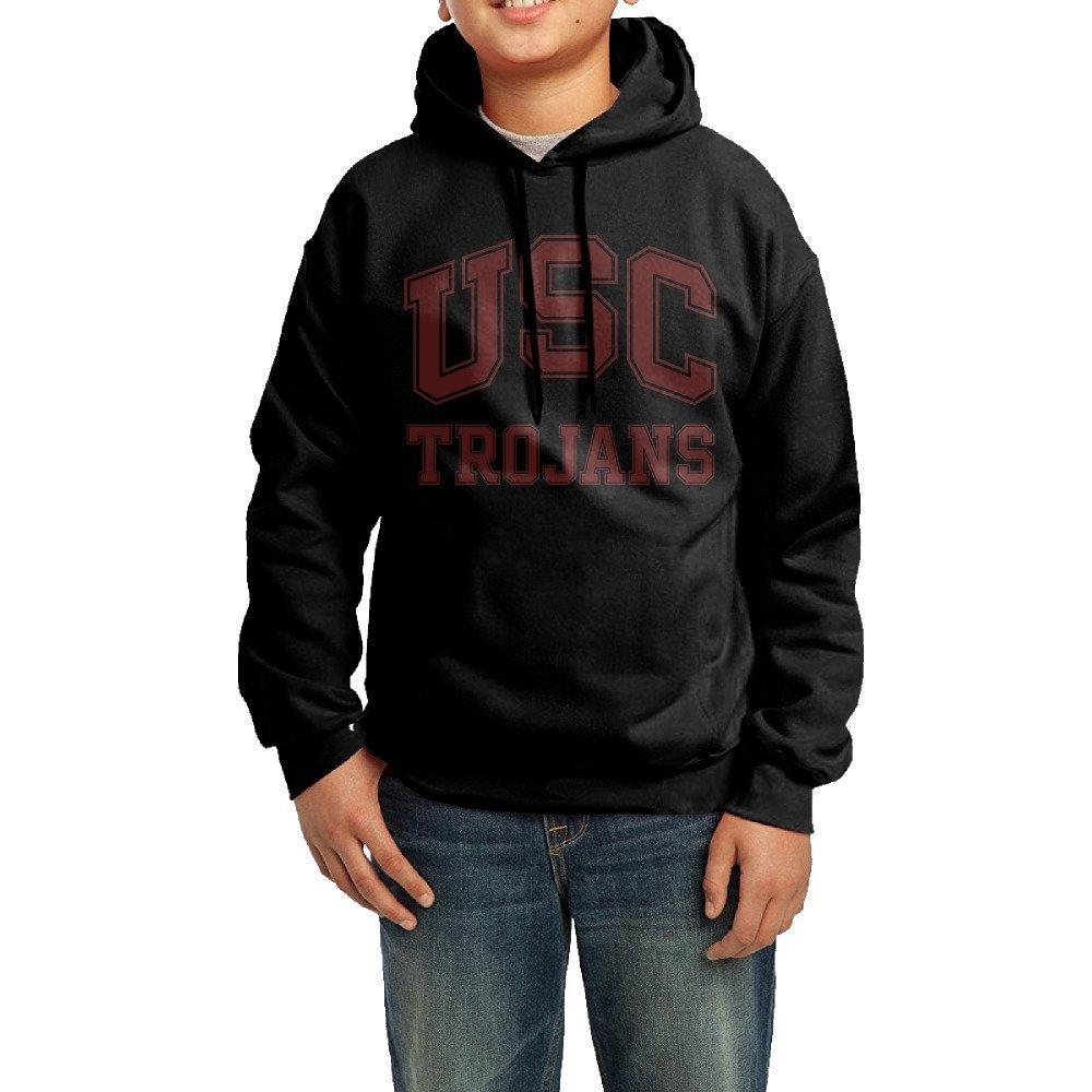 XMAS Girl's&boy's USC Trojans Logo Pullover Hooded Sweatshirt
