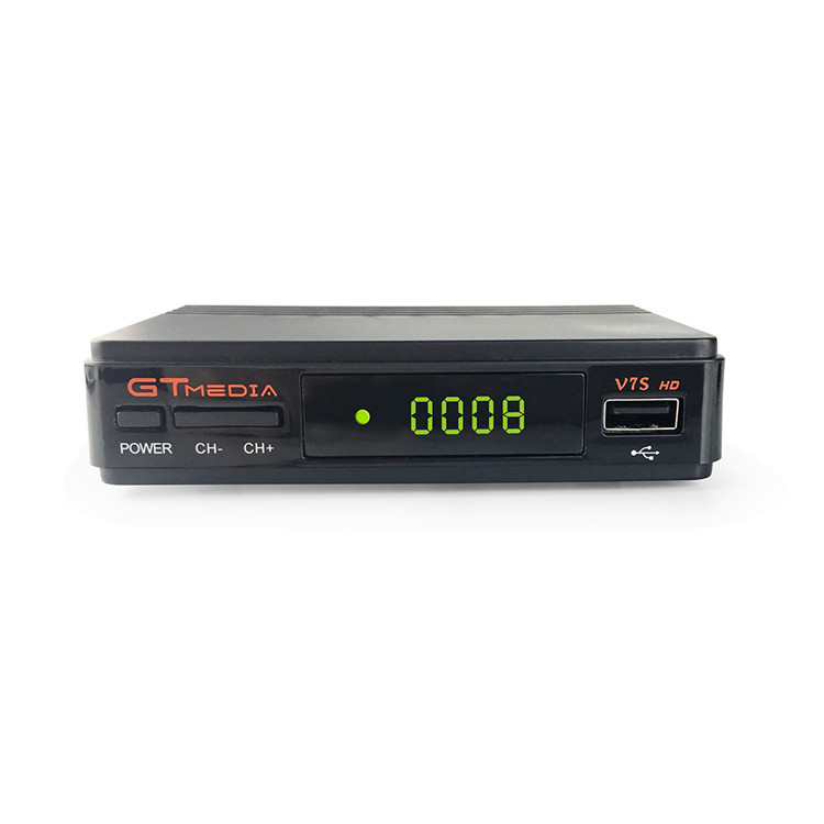 FTA Digital Satellite Decoder GTMedia V7S HD DVB-S2 USB 3G Dongle Digital TV Receiver Set Top Box Cheaper Factory Price фото