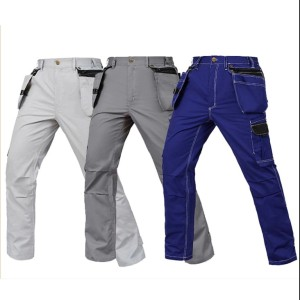Working Cargo Pants Summer Thin Style Multi Pockets Work Trousers Factory Worker Cargo Pants For Mens Cheap Cargo Pants