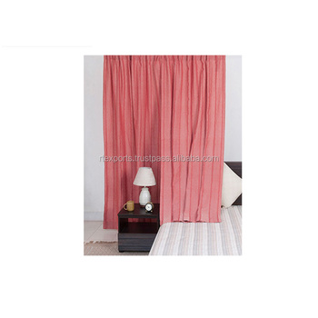 Cotton Material Printed Window Curtains