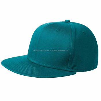 Sky blue cotton embroidery baseball snap back caps/ polyester cotton snap back caps for unisex