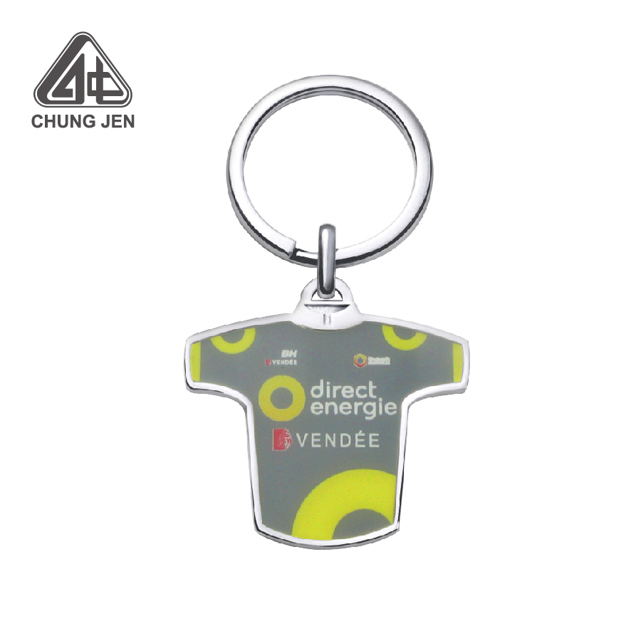 Advertising Printing Cycling Bike Jersey Keychain
