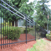 Anping A.S.O Factory Price Steel Gates And Steel Fence Design