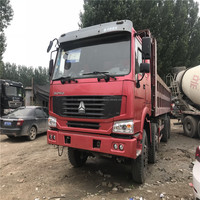 Sinotruck Howo 375hp widely used heavy duty tipper dump truck for sale