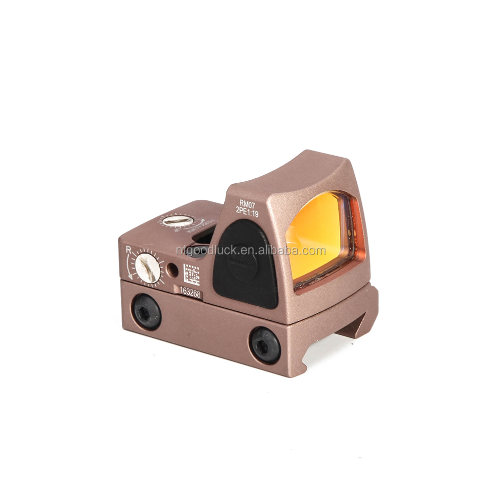 HY Tactical Acog Compact Mini RMR Red Dot Sight Riflescope Reflex Sight with 22mm Dovetail Rail