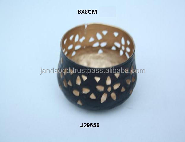 Two tone Laser cut patterns Iron votive it can be in any colours and pattern