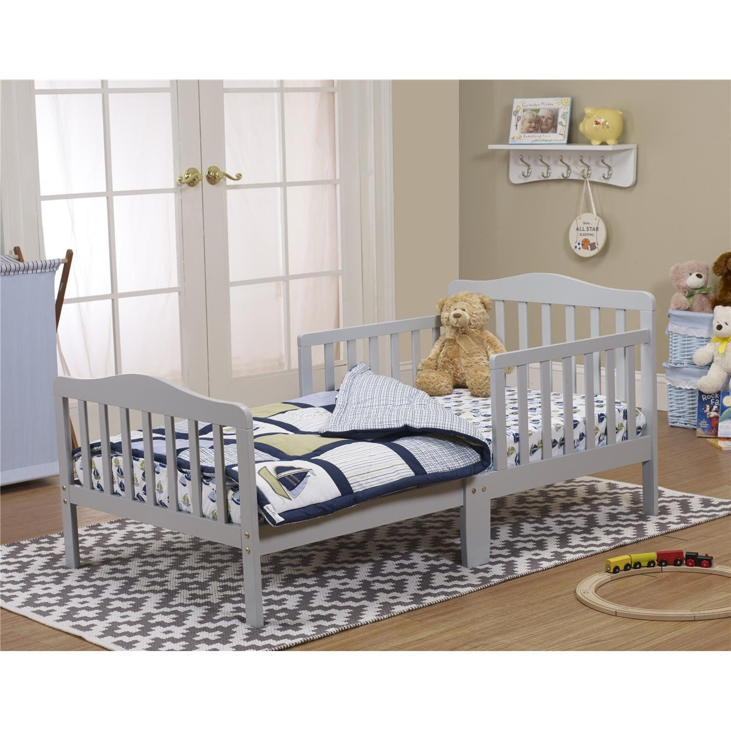 Orbelle Trading Toddler Bed, Grey