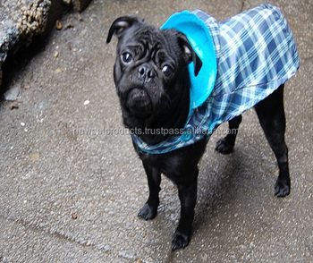 New Design Soft Comfortable Dog Pet Puppy Raincoat