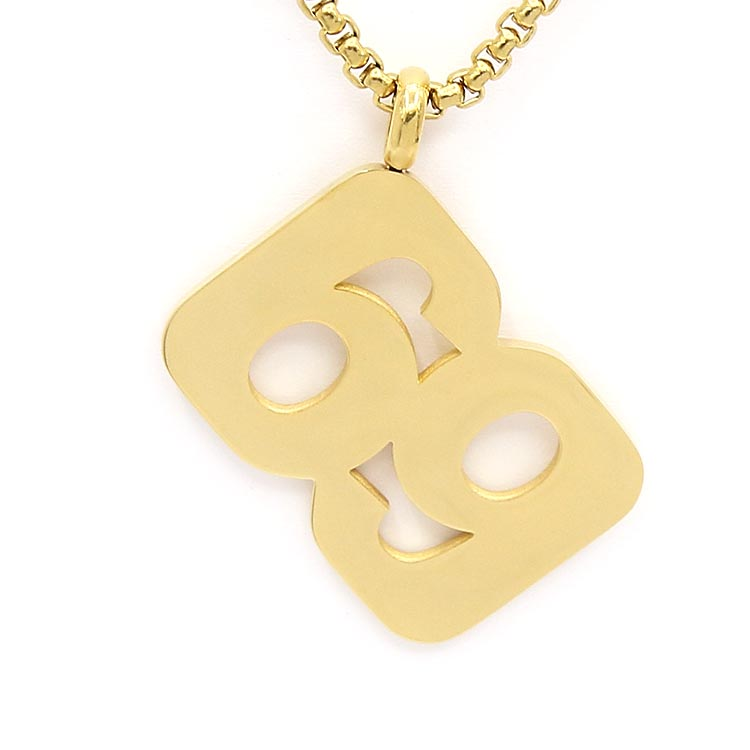 Jewelry Fashion Necklace 18K Gold Plated Number 69 <strong>Pendant</strong>