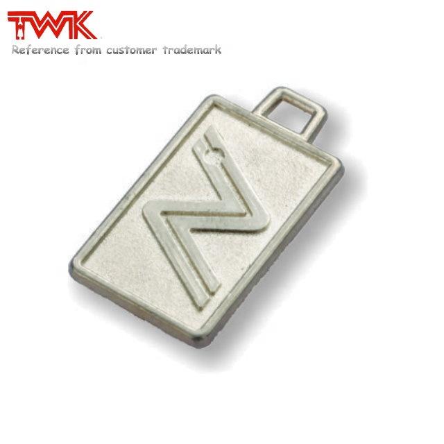 Free sample zinc alloy metal heart shape metal zipper puller