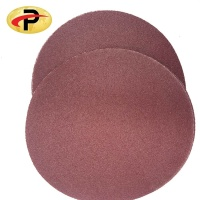 Aluminum oxide Hook and Loop Adhesive Sanding Disc Sandpaper for Random Orbital Sander