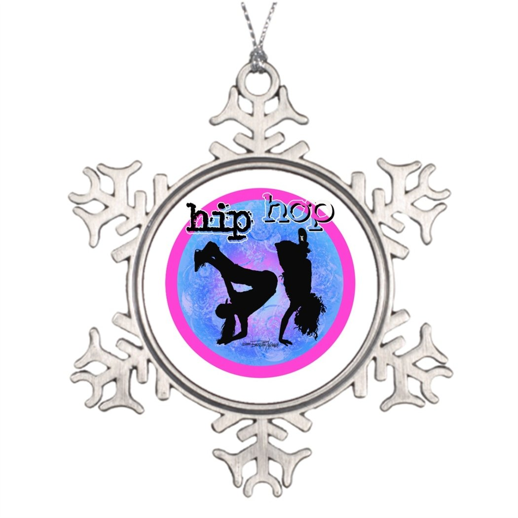 7th Gener Xmas Trees Decorated Dance - Hip Hop Girls Personalised Christmas Tree Decoration Dancing