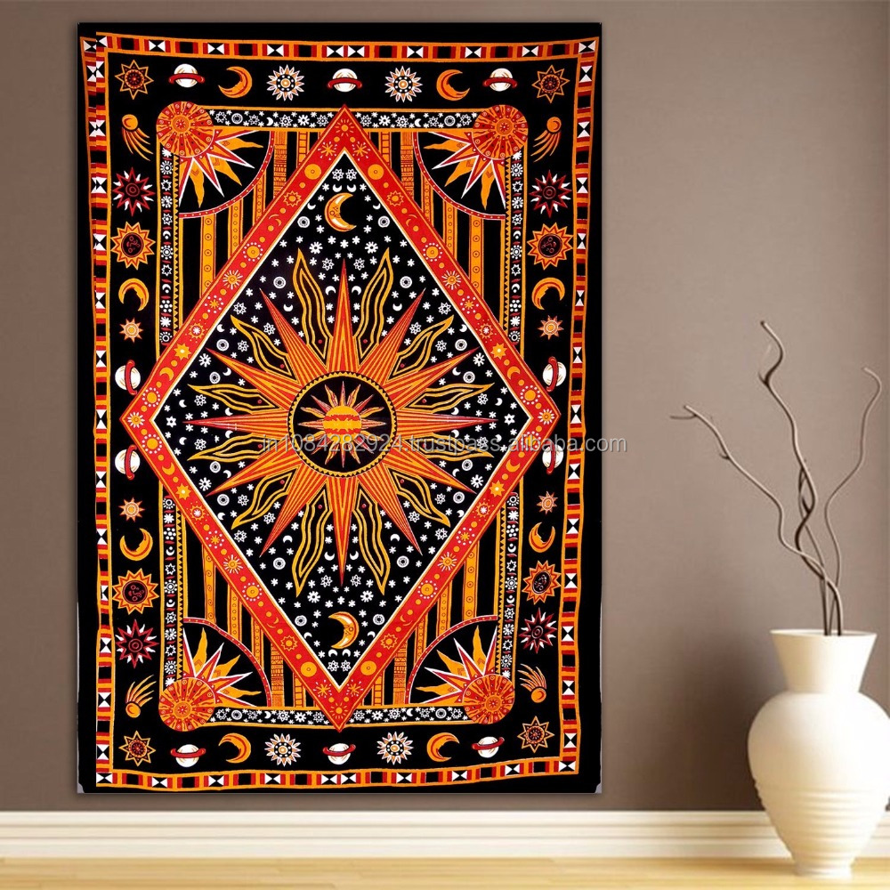 New Celestial Sun Moon Stars Planet Wall hanging