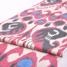 Colorful Ikat Cotton Fabric