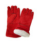 Insulated Cow Split Leather Winter Welding Work Gloves