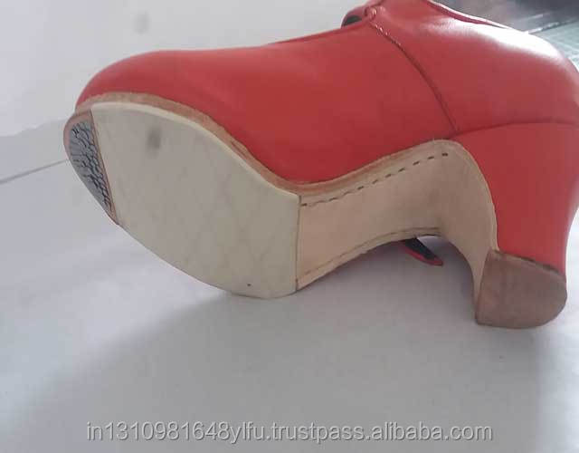 and women's dance black in shoe leather beige flamenco Uz74Ugv