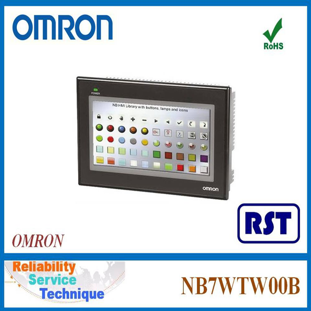"""24VDC TOUCH SCREEN PANEL OMRON NEW NB7W-TW00B HMI 7/"""" COLOR TFT LCD FREE SHIP"""