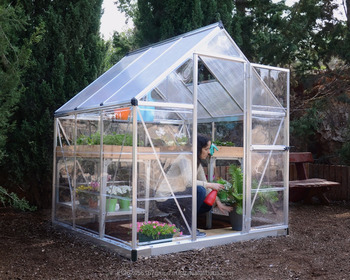 Palram Greenhouse Hybrid 6'x6' - Buy Polycarbonate Greenhouse,Diy  Greenhouse,Hobby Garden Product on Alibaba com