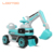 China supplier new model children ride on tractor mini toy digger car excavator kids for play