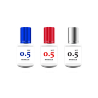 Color glue, blue color glue, red color 0.5 sec quick dry / fast dry / long retention / glue for eyelashes extension