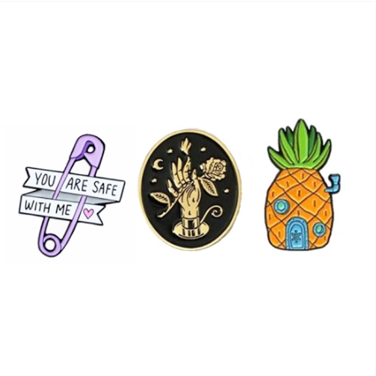 Cheap Lapel Metal Badge No Minimum Set Your Own Design Soft Enamel Pin <strong>Custom</strong>
