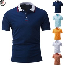Brussels Sports factory direct wholesale clothing 100% cotton slim fit green dry fit polo shirt