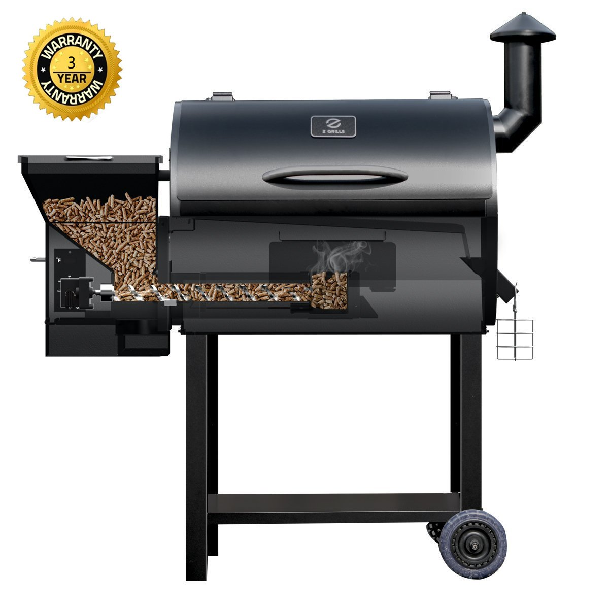 Get Quotations · Z GRILLS Pellet Grill and Smoker BBQ with Digital Controls  700 Sq grilling Area Outdoor Backyard - Cheap Custom Backyard Grills, Find Custom Backyard Grills Deals On