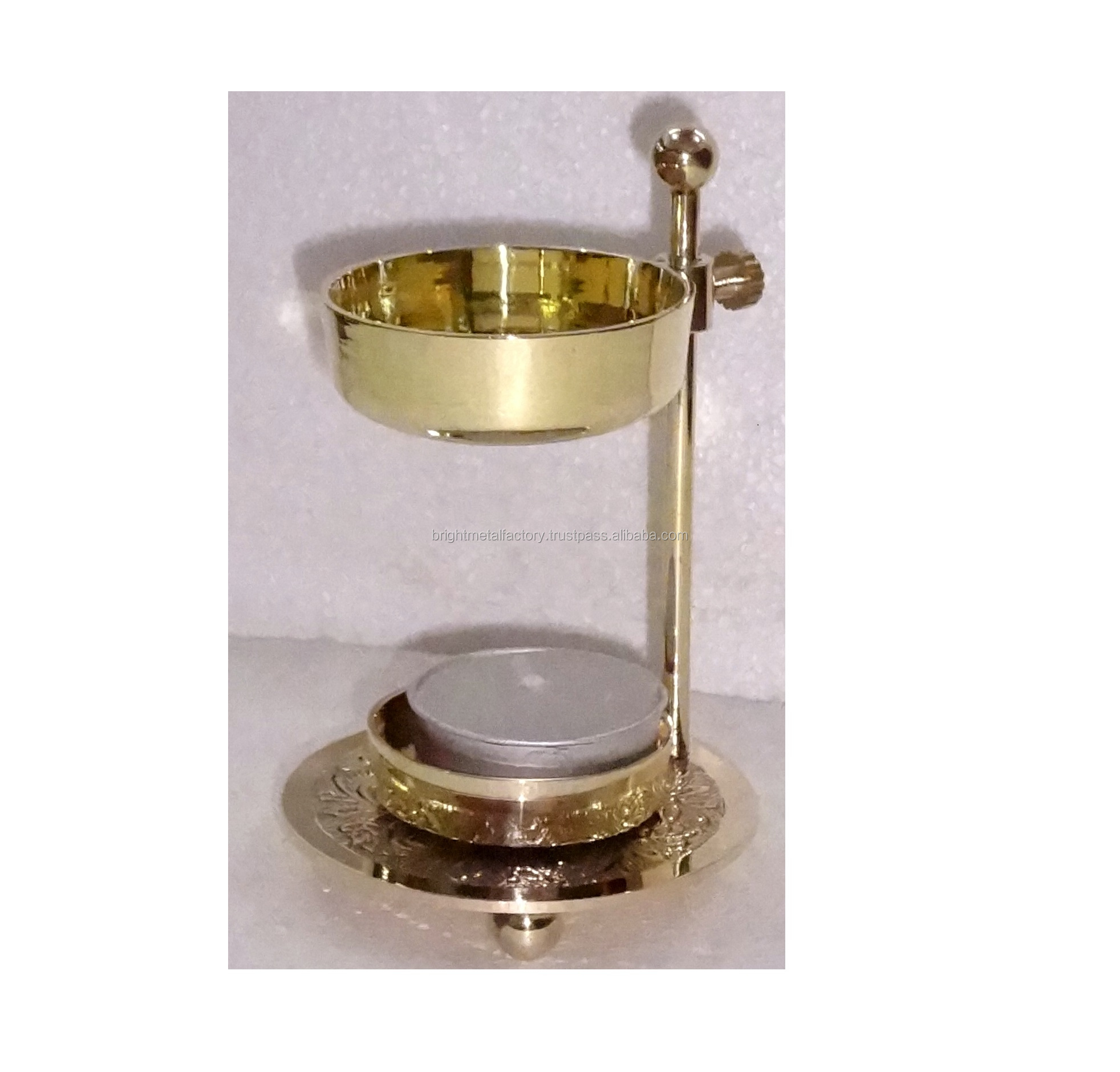 Brass Fragrance / Incense Resin Burner