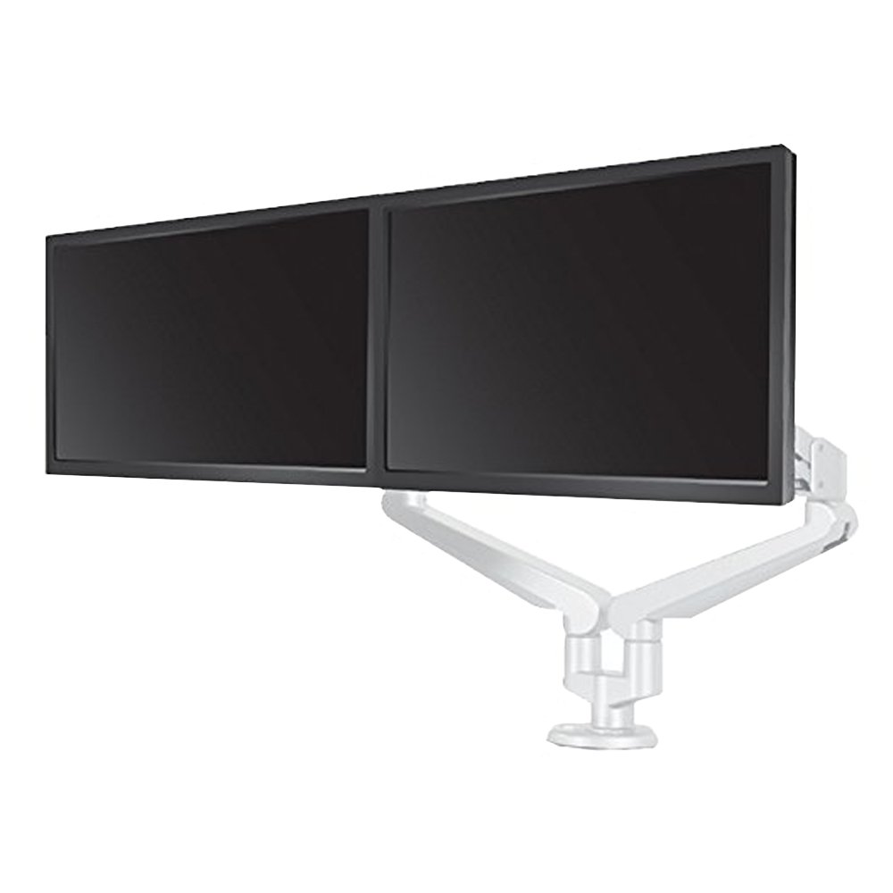 ESI Ergo EDGE2-WHT EDGE-Series Dual Monitor Arm