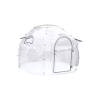 2019 New Outdoor Sunbathing Set lgloo Transparent Dome Bubble Tent