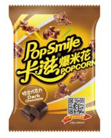 Pop - Smile Popping popcorn Dark Chocolate Flavor Butterfly Type 60g Bagged Snack Popcorn