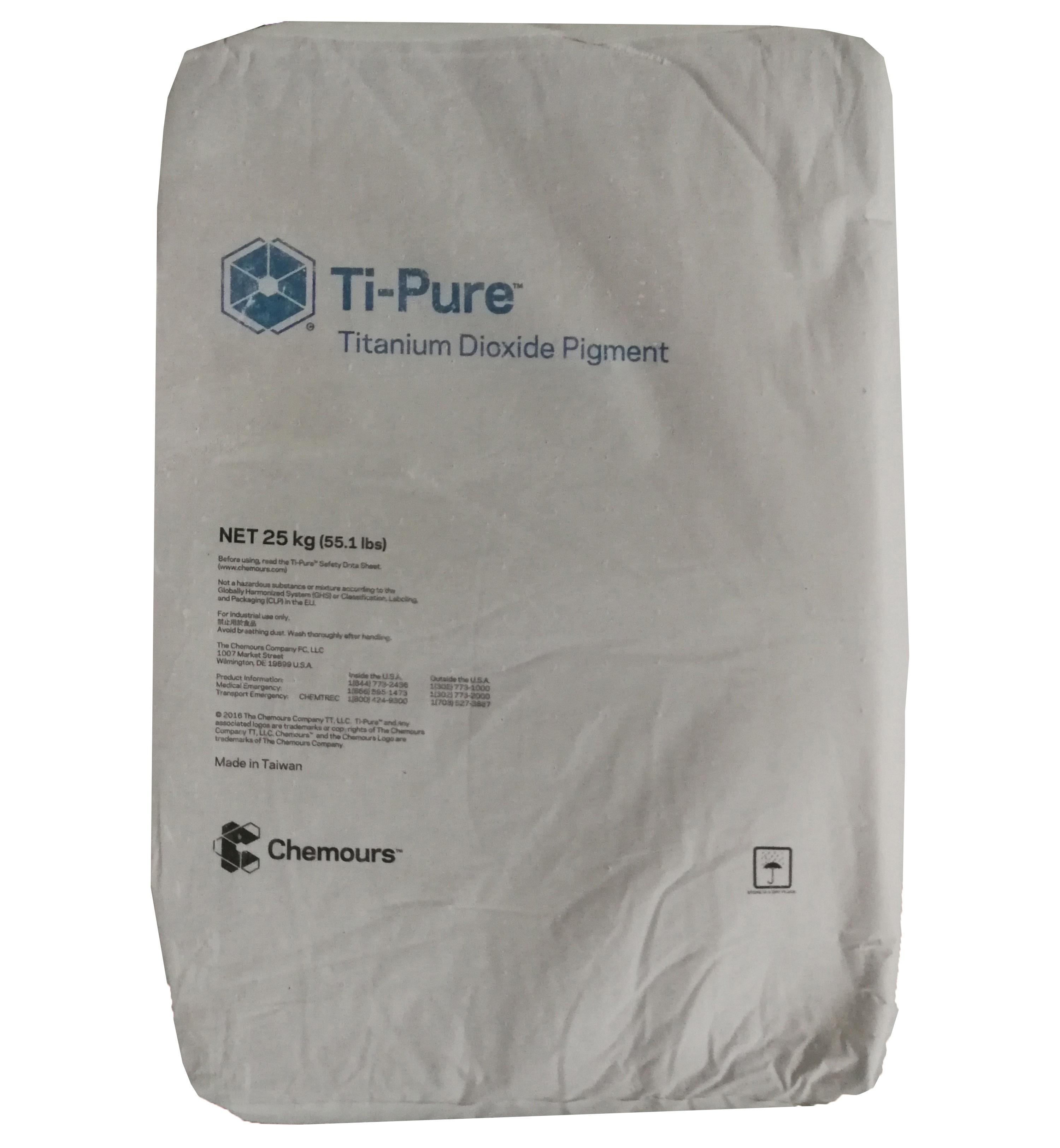 Chemours Titanium Dioxide Pigment Tio2 for General Use R 902