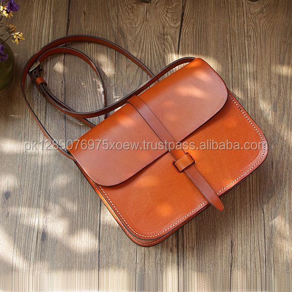 Custom Arrival High Quality Leather Polish Girl Leather Bag/ High Level Cheap Leather Bags/ Hot Selling Ladies Hand Bag