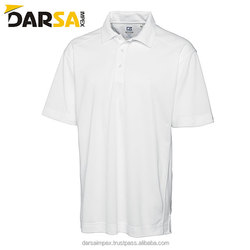 Custom logo embroider men short sleeve golf shirt plain 100% cotton polo t shirts