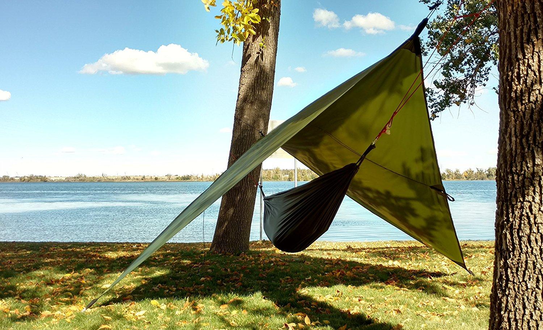 Hammock Rain Fly or Camping Tarp. Rain Fly (Hammock Not Included)