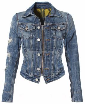 c5fd21a8aa3f Latest Fashion Ladies Denim Jackets - Buy Do Jean Jackets Go With ...