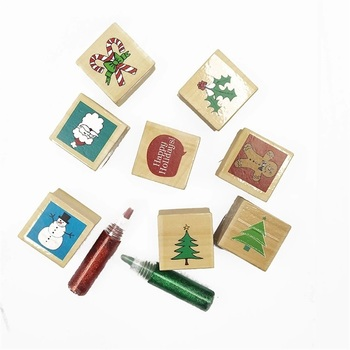 Custom Wooden Stamp Card Making Diy Crafts Scrapbooking Rubber Stamps For Teachers