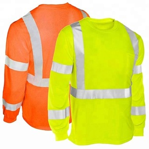 Long Sleeve Construction Wear Working Shirt