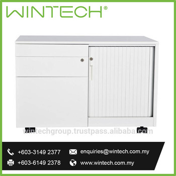 High Quality Office Filing Cabinet Caddy With Aluminium Tambour Door Filing  Cabinet Malaysia