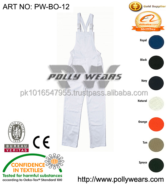 Top Quality Bib overall work wear clothing uniforms