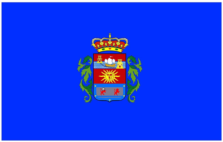magFlags Large Flag Corvera | Corvera, en Asturias España | landscape flag | 1.35qm | 14.5sqft | 90x150cm | 3x5ft -- 100% Made in Germany -- long lasting outdoor flag