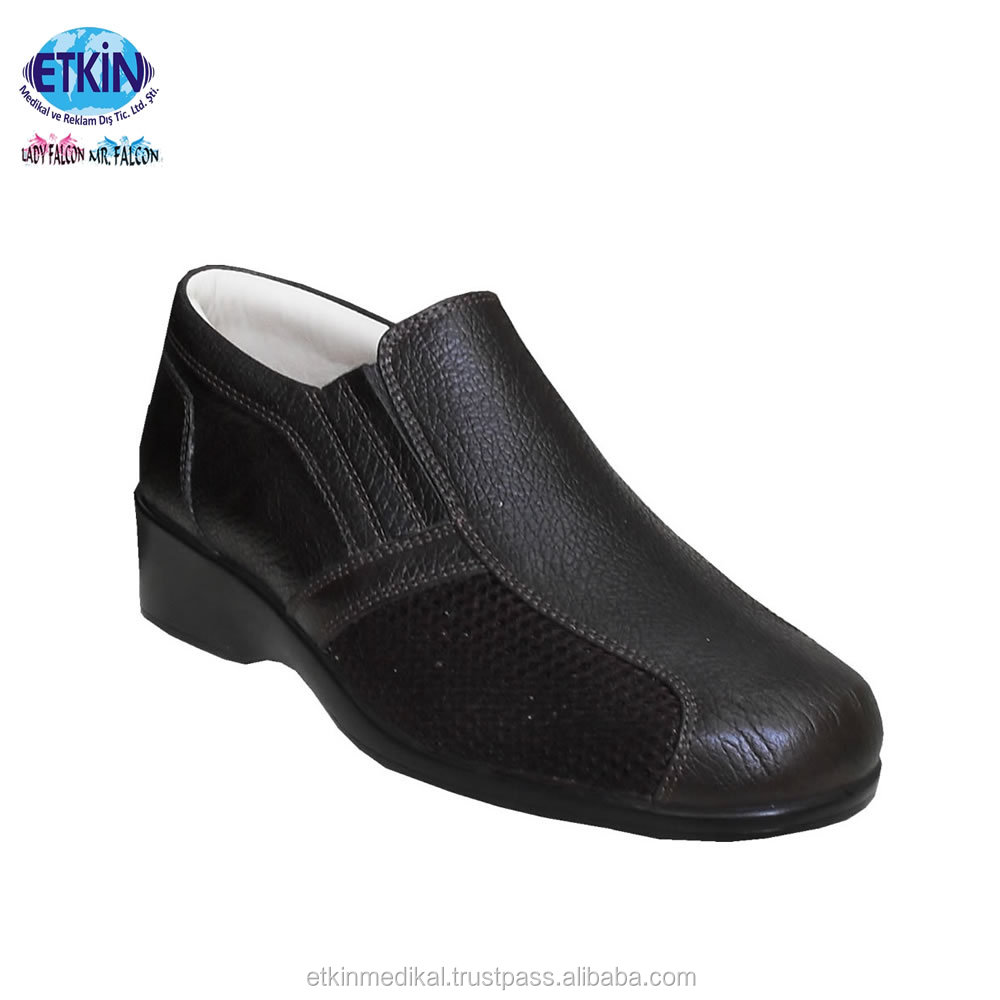 Women's Foot Protection Leather for Best Quality Diabetic With Genuine Shoes rInSfHwqr