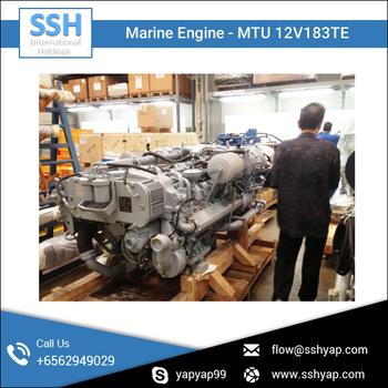 Mtu 12v183te Marine Engine With Gearbox - Buy Mtu Marine Engine,Marine  Engine With Gearbox,Mtu 12v183te Engine Product on Alibaba com