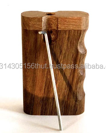 Handmade Black Wooden Dugout with one Hitter Bat  Custom Color Made From Natural Wood .