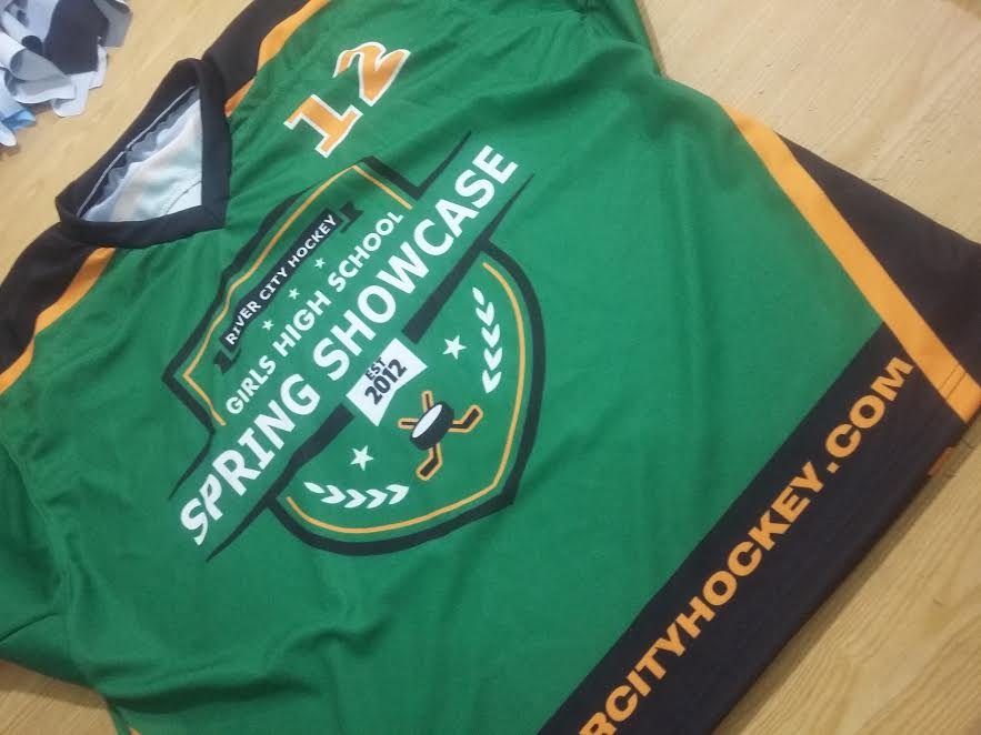 Maßgeschneiderte Eishockey-Trikots Tackle Twill Embroidered & Sublimation Printed
