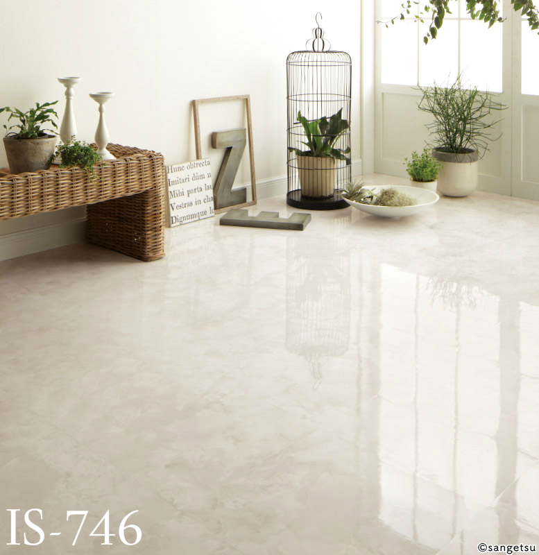 Sangetsu Floor Tile, Stone / Marble Designs, IS-746 to IS-749, Sample Available